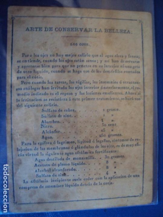 Barajas de cartas: (BA-190501)BARAJA DE LOS ENAMORADOS. DEDICADA AL PRESTIDIGITADOR CATALÁN D. FRUCTUOSO CANONJE XIX - Foto 48 - 166542314