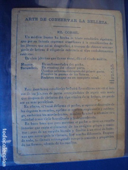 Barajas de cartas: (BA-190501)BARAJA DE LOS ENAMORADOS. DEDICADA AL PRESTIDIGITADOR CATALÁN D. FRUCTUOSO CANONJE XIX - Foto 50 - 166542314