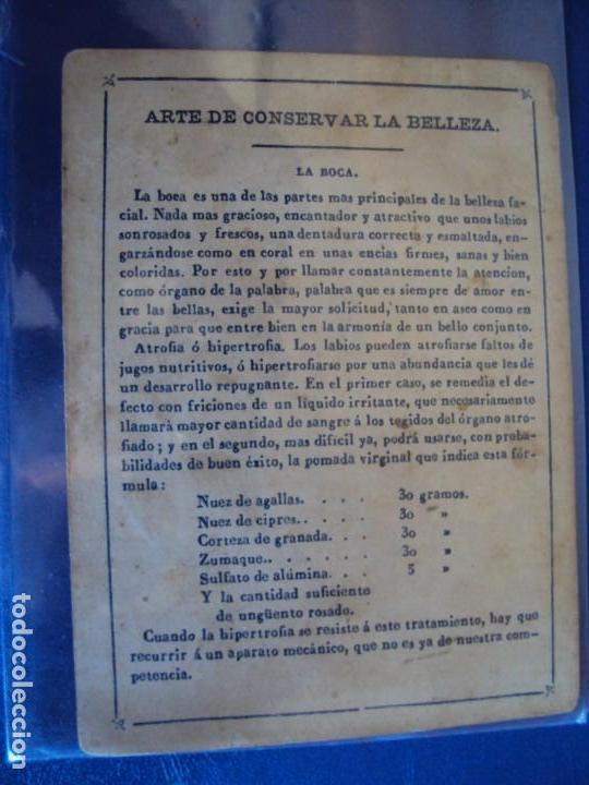 Barajas de cartas: (BA-190501)BARAJA DE LOS ENAMORADOS. DEDICADA AL PRESTIDIGITADOR CATALÁN D. FRUCTUOSO CANONJE XIX - Foto 52 - 166542314