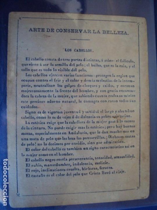 Barajas de cartas: (BA-190501)BARAJA DE LOS ENAMORADOS. DEDICADA AL PRESTIDIGITADOR CATALÁN D. FRUCTUOSO CANONJE XIX - Foto 66 - 166542314