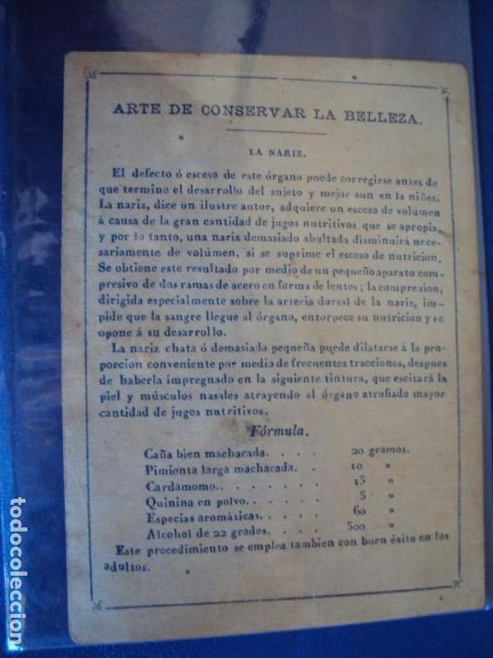 Barajas de cartas: (BA-190501)BARAJA DE LOS ENAMORADOS. DEDICADA AL PRESTIDIGITADOR CATALÁN D. FRUCTUOSO CANONJE XIX - Foto 68 - 166542314