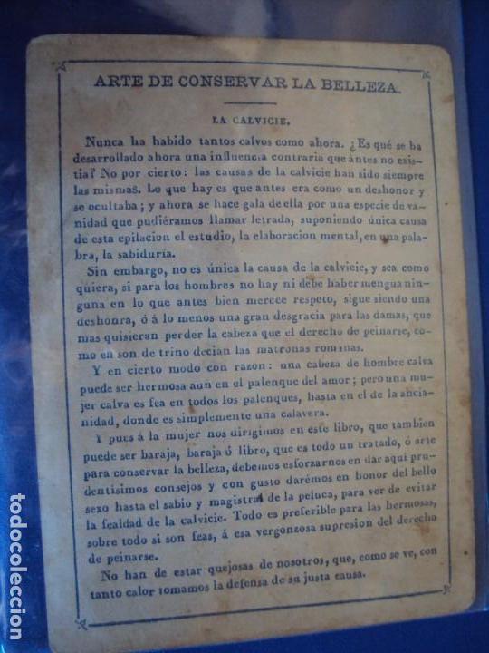 Barajas de cartas: (BA-190501)BARAJA DE LOS ENAMORADOS. DEDICADA AL PRESTIDIGITADOR CATALÁN D. FRUCTUOSO CANONJE XIX - Foto 70 - 166542314