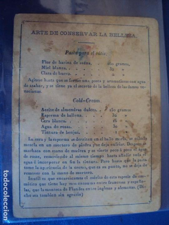 Barajas de cartas: (BA-190501)BARAJA DE LOS ENAMORADOS. DEDICADA AL PRESTIDIGITADOR CATALÁN D. FRUCTUOSO CANONJE XIX - Foto 72 - 166542314