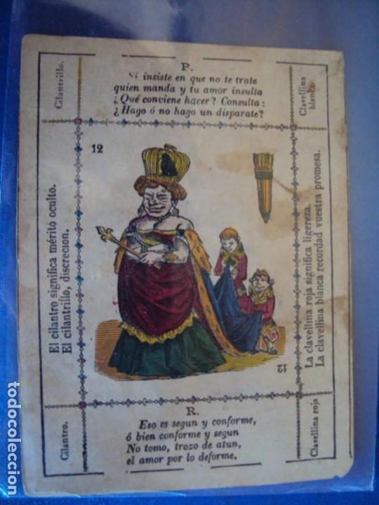 Barajas de cartas: (BA-190501)BARAJA DE LOS ENAMORADOS. DEDICADA AL PRESTIDIGITADOR CATALÁN D. FRUCTUOSO CANONJE XIX - Foto 73 - 166542314