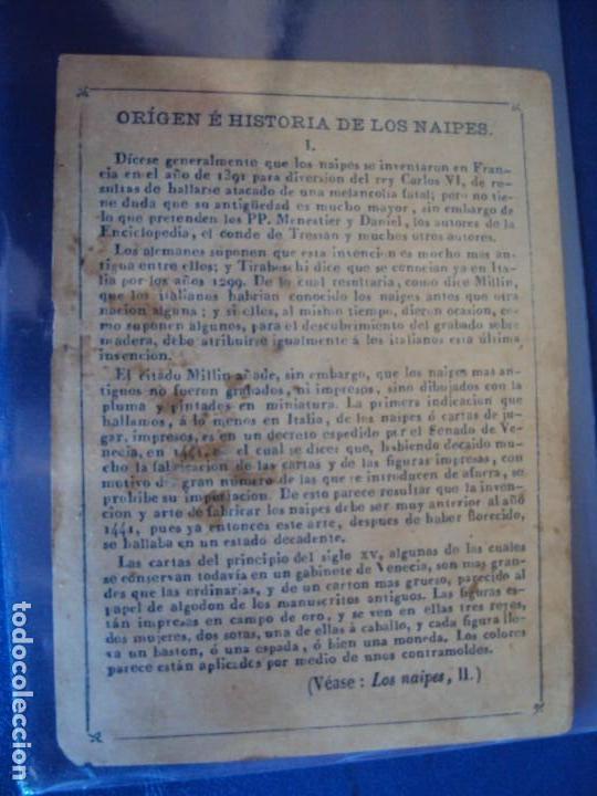 Barajas de cartas: (BA-190501)BARAJA DE LOS ENAMORADOS. DEDICADA AL PRESTIDIGITADOR CATALÁN D. FRUCTUOSO CANONJE XIX - Foto 74 - 166542314