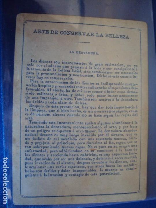Barajas de cartas: (BA-190501)BARAJA DE LOS ENAMORADOS. DEDICADA AL PRESTIDIGITADOR CATALÁN D. FRUCTUOSO CANONJE XIX - Foto 78 - 166542314