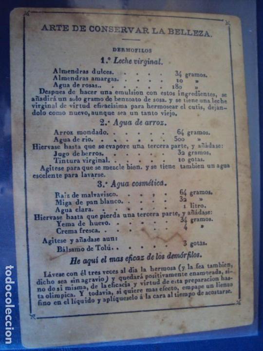 Barajas de cartas: (BA-190501)BARAJA DE LOS ENAMORADOS. DEDICADA AL PRESTIDIGITADOR CATALÁN D. FRUCTUOSO CANONJE XIX - Foto 80 - 166542314