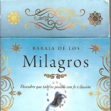 Barajas de cartas - eSPECTACULAR Baraja de Los Milagros EN SU CAJA con libro explicativo. . Nueva. Tikal. 40 cartas.LUJO - 166677674