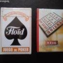 Barajas de cartas: © LOTE 2 BARAJAS CARTAS FLOÏD - PUROS REIG (SIN ABRIR). Lote 166706818