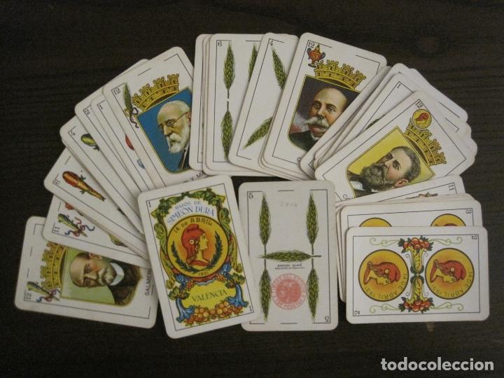 Barajas de cartas: BARAJA CARTAS ANTIGUA-REPUBLICA-SIMEON DURA-VALENCIA-14 ABRIL 1931-40 CARTAS-VER FOTOS-(V-17.278) - Foto 2 - 166819890