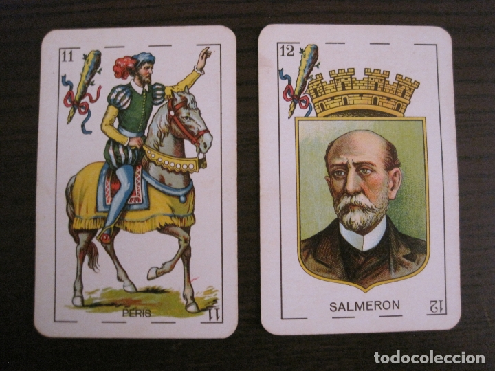 Barajas de cartas: BARAJA CARTAS ANTIGUA-REPUBLICA-SIMEON DURA-VALENCIA-14 ABRIL 1931-40 CARTAS-VER FOTOS-(V-17.278) - Foto 26 - 166819890