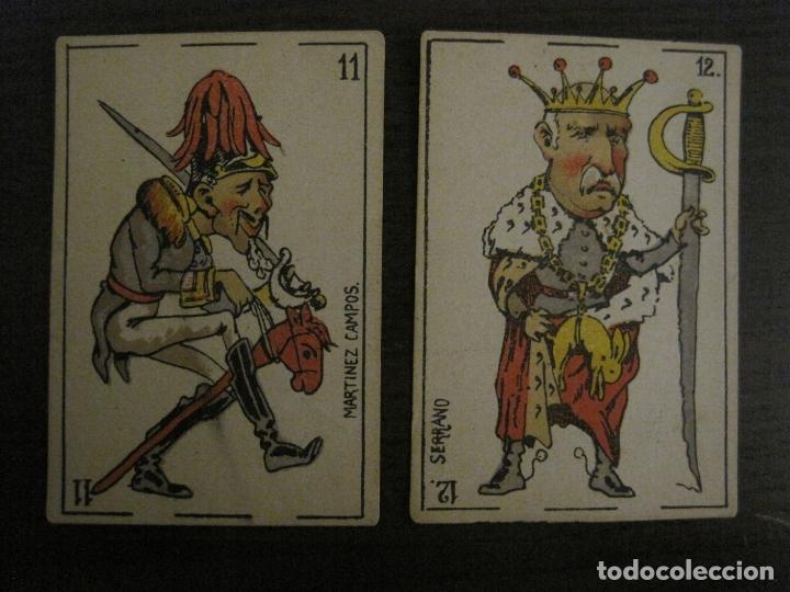 Barajas de cartas: BARAJA CARTAS ANTIGUA-TIPO LITOGRAFIA DEL UNIVERSO-CARLISMO-COMPLETA 40 CARTAS-VER FOTOS-(V-17.279) - Foto 22 - 166821042