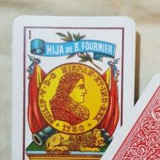 Barajas de cartas: BARAJA HIJA DE B. FOURNIER. MARFIL 1° ESPECIAL OPACO. BURGOS.. Lote 166847241