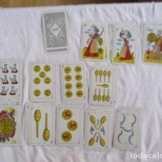 Barajas de cartas: BARAJA CATALUÑA VISCA CATALUNYA- 50 CARTAS HERACLIO FOURNIER 1935 MOLNÉ FECIT Nº 66 - COMO NUEVAS. Lote 166961992