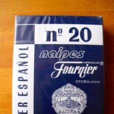 Barajas de cartas: BARAJA DE POKER ESPAÑOL HERACLIO FOURNIER N 20 (PRECINTADA). Lote 167077680