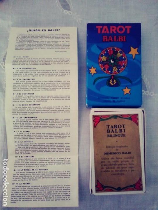 Barajas de cartas: Tarot Balbi - Foto 2 - 167166432
