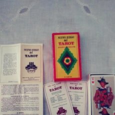 Barajas de cartas: NUEVO JUEGO DEL TAROT DEDICADO ALA REGIÓN ALPINA. Lote 167167980