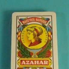 Barajas de cartas: BARAJA AZAHAR MAESTROS NAIPEROS MOD. LUNA. LIFANTE CAJAS REGISTRADORAS. Lote 167169208