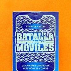 Jeux de cartes: JUEGO DE CARTAS - BARAJA; BATALLA DE MÓVILES - 40 NAIPES - PUBLICIDAD MOVISTAR - NUEVA, SIN USO.. Lote 167463564