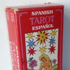 Barajas de cartas: TAROT ESPAÑOL **** NAIPES HERACLIO FOURNIER *** 78 CARTAS Y FOLLETO CON INSTRUCCIONES. Lote 167541168