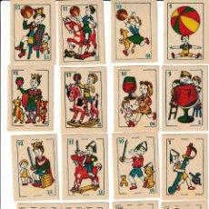 Barajas de cartas: BARAJA ESPAÑOLA JUEGOS COMICOS. Lote 167662760