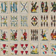 Barajas de cartas: BARAJA ESPAÑOLA CIRCENSE. Lote 167663092