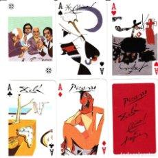 Decks of cards - BARAJA DE POKER ASES DE LA PINTURA - 167739128