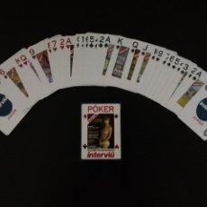 Barajas de cartas: JUEGO 54 CARTAS POKER - INTERVIÚ - GRANDES DESNUDOS - COMPLETA. Lote 167753106