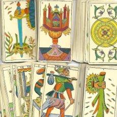 Barajas de cartas: BARAJA DE TAROT ESPAÑOL ALGO USADA PERO BUEN ESTADO. Lote 167853828