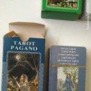 Barajas de cartas: PRECINTADA SIN UTILIZAR - BARAJA CARTAS DEL TAROT - LOS SCARABEO TAROT PAGANO. Lote 167912085