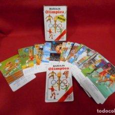 Barajas de cartas: BARAJA OLIMPICA HERACLIO FOURNIER COMPLETA - AÑO 1988 -. Lote 167974384