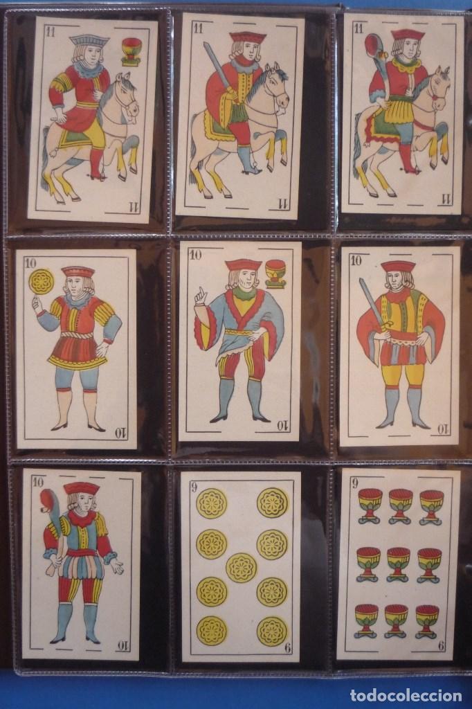 Barajas de cartas: BARAJA SIGLO XIX. JAIME GARCÍA FOSSAS-IGUALADA. 48 CARTAS. LEON Y SOL EN 4 DE COPAS. TIMBRE EN..... - Foto 2 - 168157980