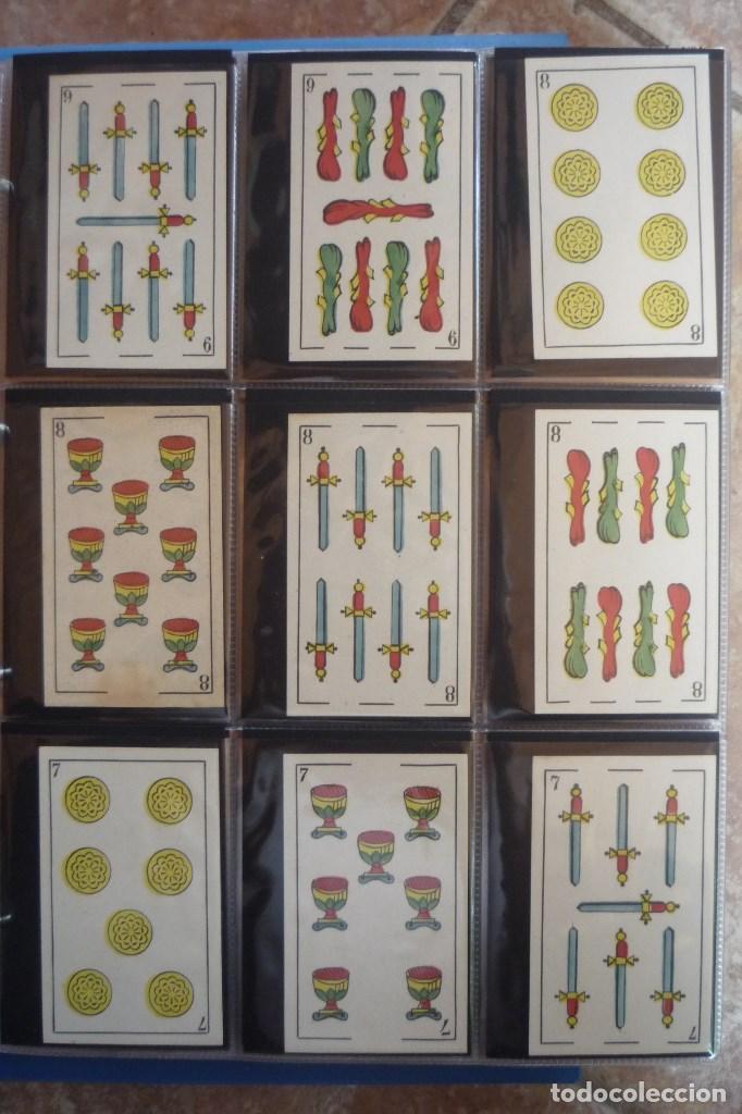 Barajas de cartas: BARAJA SIGLO XIX. JAIME GARCÍA FOSSAS-IGUALADA. 48 CARTAS. LEON Y SOL EN 4 DE COPAS. TIMBRE EN..... - Foto 3 - 168157980