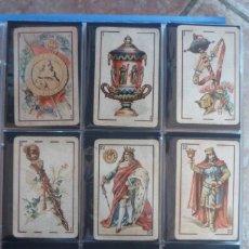 Barajas de cartas: BARAJA 40 CARTAS. SIMEÓN DURA-VALENCIA. EL CID (MARCA DE FÁBRICA) EN 4 DE COPAS. TIMBRE EN....... Lote 168160844
