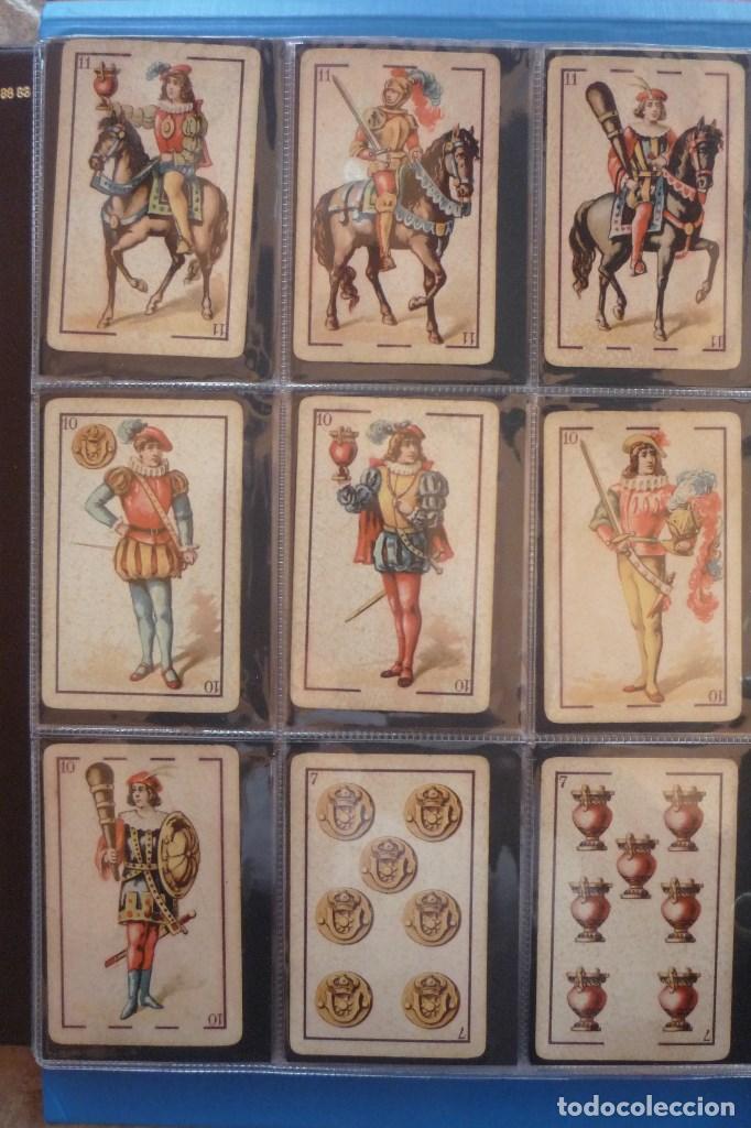 Barajas de cartas: BARAJA 40 CARTAS. SIMEÓN DURA-VALENCIA. EL CID (MARCA DE FÁBRICA) EN 4 DE COPAS. TIMBRE EN...... - Foto 2 - 168160844