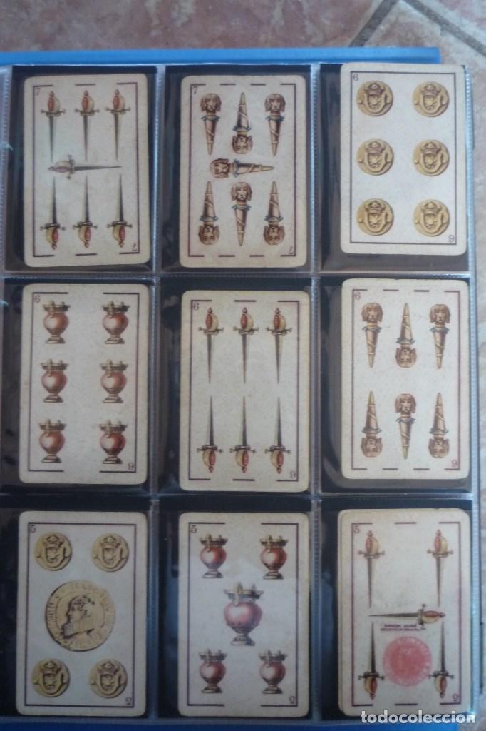 Barajas de cartas: BARAJA 40 CARTAS. SIMEÓN DURA-VALENCIA. EL CID (MARCA DE FÁBRICA) EN 4 DE COPAS. TIMBRE EN...... - Foto 3 - 168160844