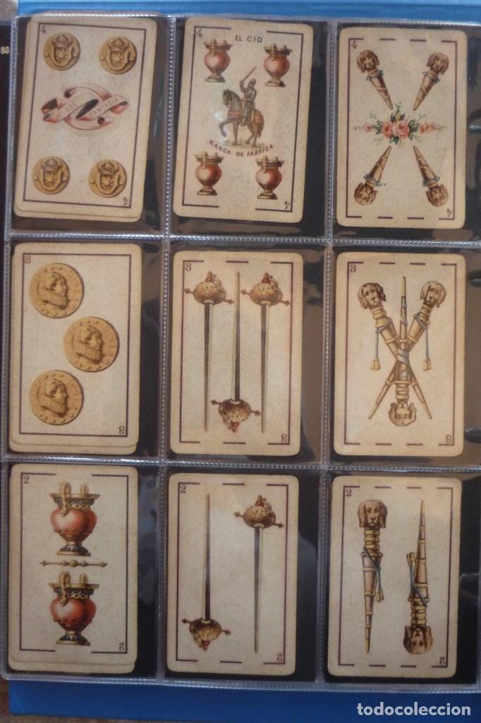 Barajas de cartas: BARAJA 40 CARTAS. SIMEÓN DURA-VALENCIA. EL CID (MARCA DE FÁBRICA) EN 4 DE COPAS. TIMBRE EN...... - Foto 4 - 168160844
