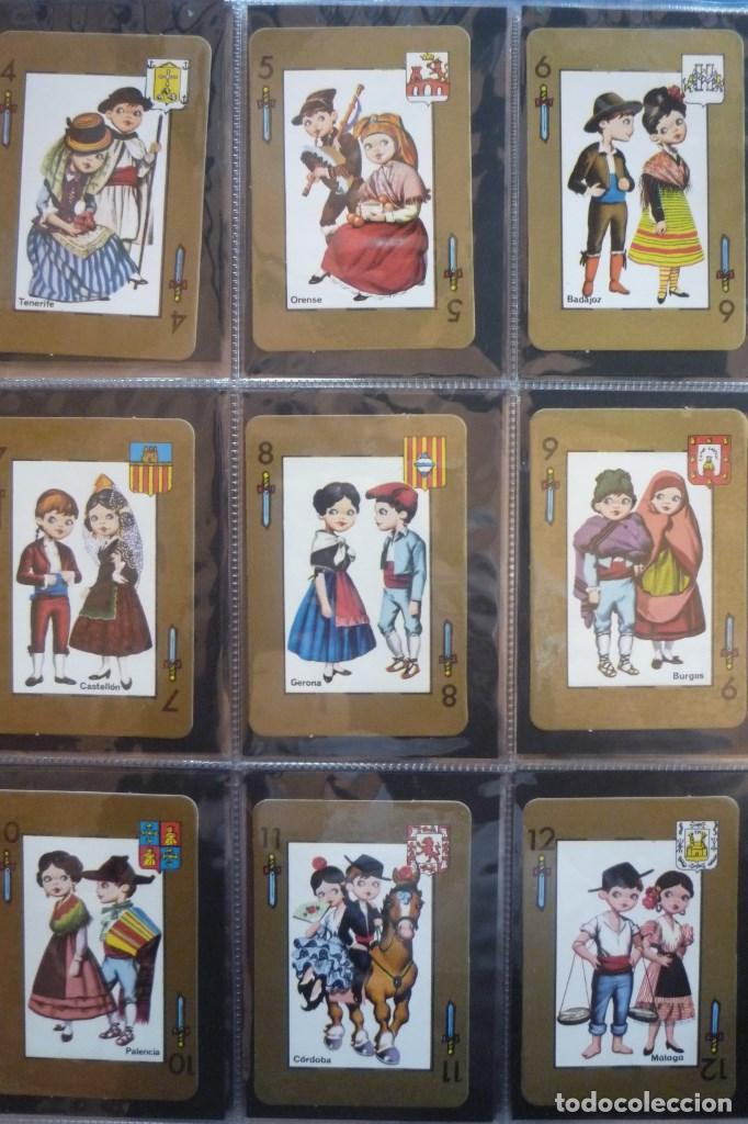 Barajas de cartas: BARAJA 48 CARTAS. ESPAÑA. PAREJAS CON TRAJES REGIONALES Y ESCUDOS PROVINCIALES. - Foto 4 - 168162732