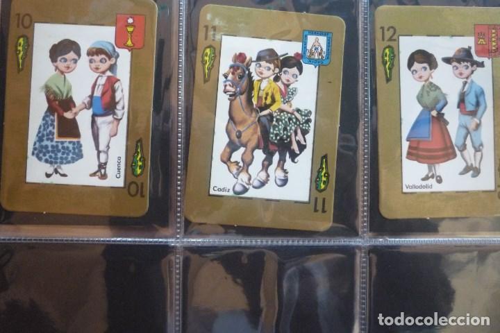 Barajas de cartas: BARAJA 48 CARTAS. ESPAÑA. PAREJAS CON TRAJES REGIONALES Y ESCUDOS PROVINCIALES. - Foto 6 - 168162732