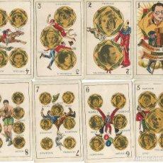 Barajas de cartas: BARAJA DE ESTRELLAS CINEMATOGRÁFICAS. 48 CARTAS, COMPLETA. Lote 168168728
