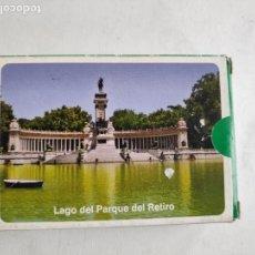 Barajas de cartas: BARAJA DE CARTAS -NAIPES VARITEMAS- VISTAS DEL RETIRO MADRID- NUEVA A ESTRENAR. Lote 168287958