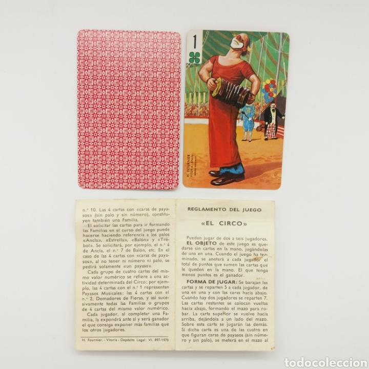Barajas de cartas: Baraja de cartas HERACLIO FOURNIER EL CIRCO - Foto 2 - 168295386