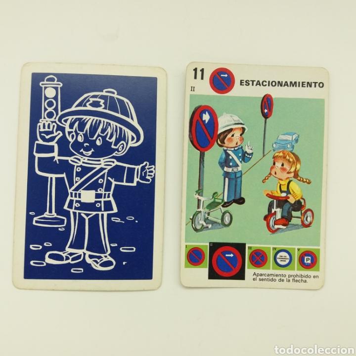 Barajas de cartas: Juego de familias SEÑALES DE TRAFICO HERACLIO FOURNIER - Foto 2 - 168297100