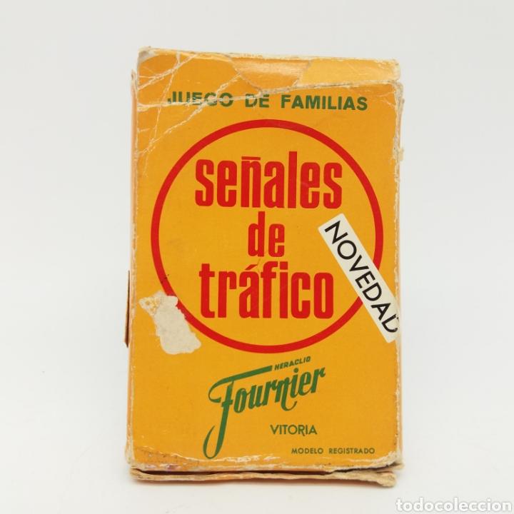 Barajas de cartas: Juego de familias SEÑALES DE TRAFICO HERACLIO FOURNIER - Foto 4 - 168297100