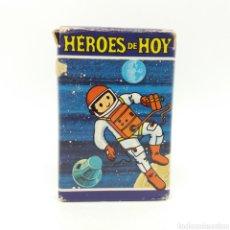 Barajas de cartas: JUEGO DE FAMILIAS 'HEROES DE HOY' HERACLIO FOURNIER - 1974. Lote 168298908