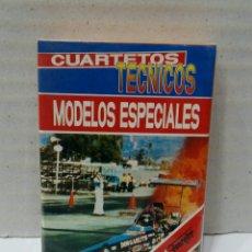 Barajas de cartas: BARAJA FOURNIER CUARTETOS TÉCNICOS MODELOS ESPECIALES. PRECINTADA. NUEVA. IMPECABLE.. Lote 295801668