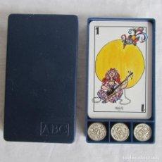 Barajas de cartas: BARAJA DE CARTAS ABC MINGOTE CON AMARRACOS DE MUS. Lote 168367820