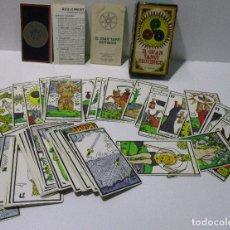 Barajas de cartas: BARAJA EL GRAN TAROT ESOTÉRICO HERACLIO FOURNIER 1978 MARITXU GULER / LUIS PEÑA LONGA. Lote 168372729