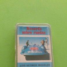 Barajas de cartas: RECORDS SOBRE RUEDAS.FOURNIER. Lote 168375370