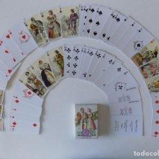 Mazzi di carte: LIBRERIA GHOTICA. BARAJA DE TRAJES FRANCESES S. XVI Y XVII. NAIPES FOURNIER. 1980.. Lote 168378340